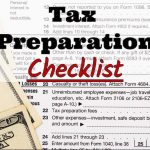 Hinckley Tax Service's 2017 Tax Preparation Checklist